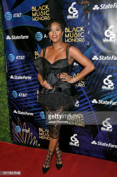 LeToya Luckett attends the 2018 Black Music Honors at Tennessee Performing Arts Center on August 16 2018 in Nashville Tennessee