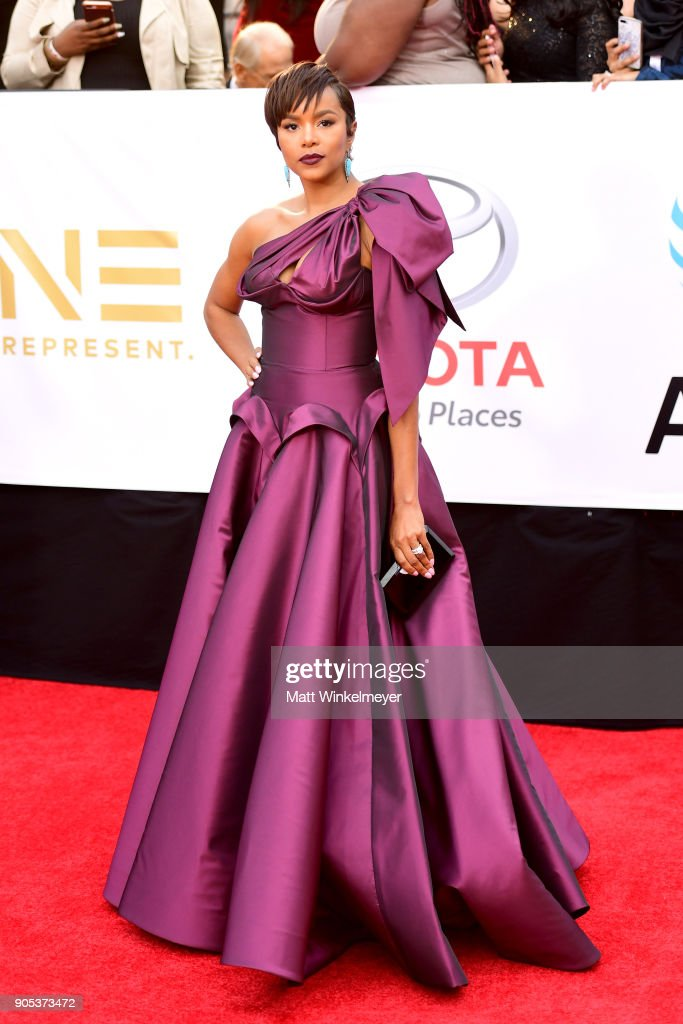 Letoya Luckett attends the 49th NAACP Image Awards at Pasadena Civic Auditorium on January 15, 2018 in Pasadena, California.