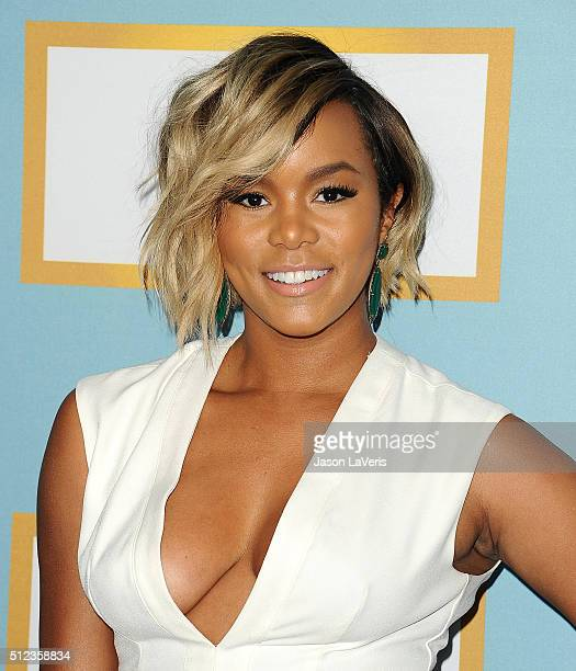 LeToya Luckett attends the Essence 9th annual Black Women In Hollywood event at the Beverly Wilshire Four Seasons Hotel on February 25 2016 in...