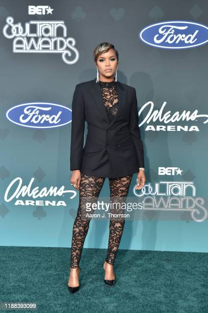 Letoya Luckett attends the Soul Train Music Awards on November 17 2019 in Las Vegas Nevada