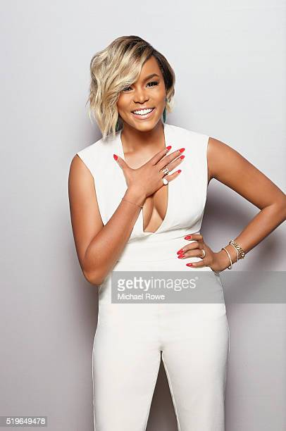 LeToya Luckett is photographed at the 2016 Black Women in Hollywood Luncheon for Essencecom on February 25 2016 in Los Angeles California