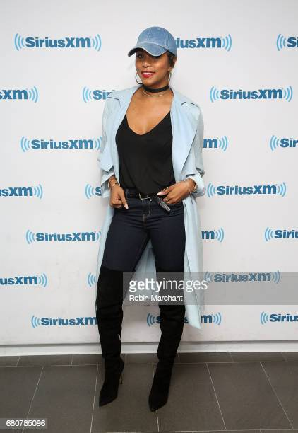 Letoya Luckett visits at SiriusXM Studios on May 9 2017 in New York City