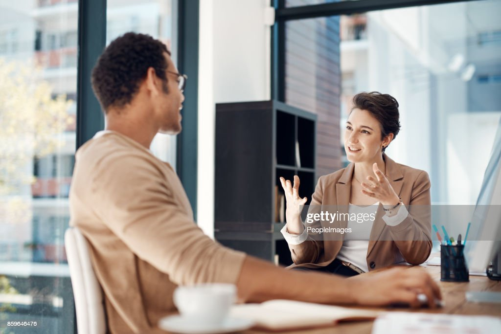 Let's be more strategic about our plans... : Stock Photo