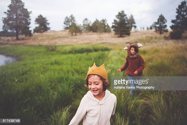 let's be wild - fairytale stock pictures, royalty-free photos & images