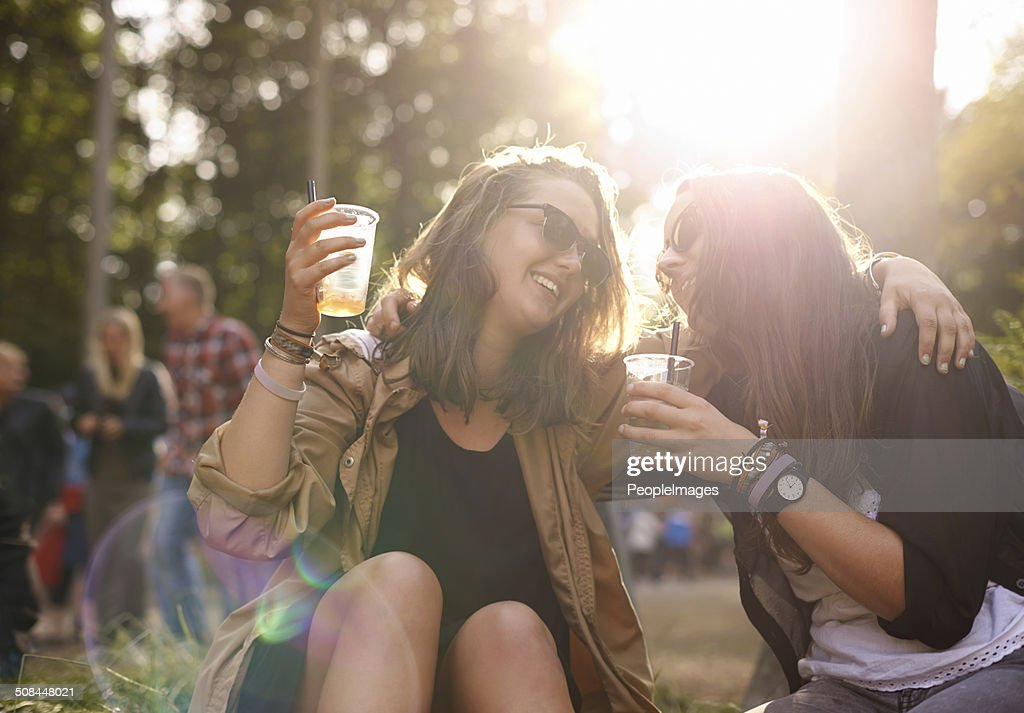 Let's drink to our friendship : Stock Photo