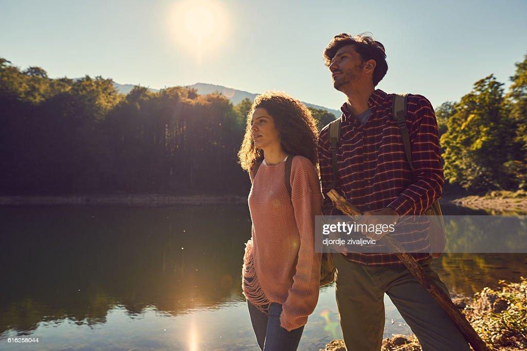 let's explore! : Stock Photo
