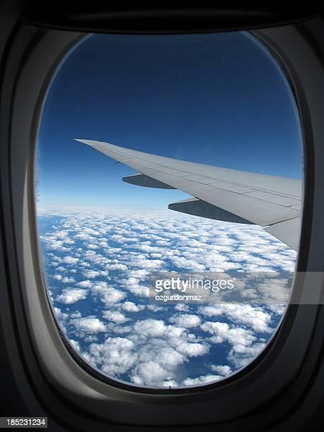 Lets fly into blue sky