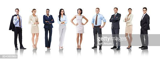 let's get down to business - arms akimbo stock pictures, royalty-free photos & images