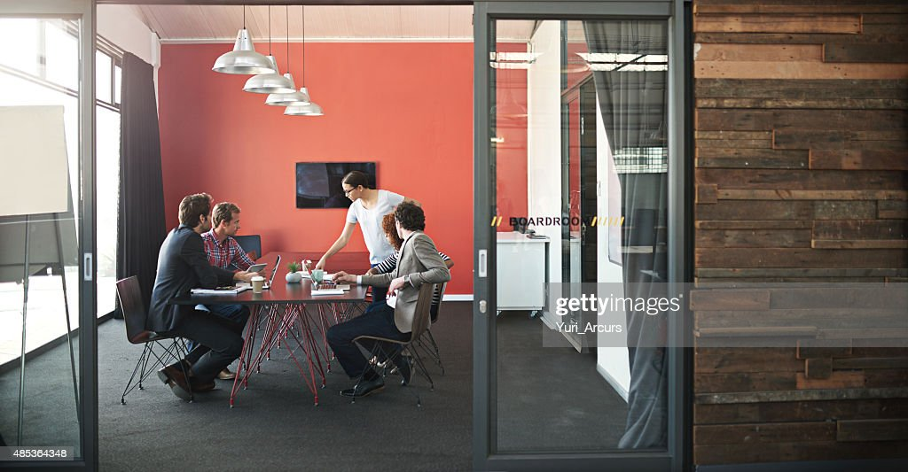 Let's get strategizing! : Stock Photo