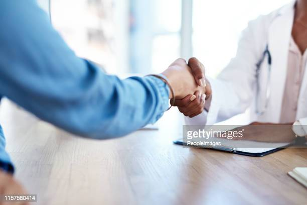let's get you well again - handshake stock pictures, royalty-free photos & images