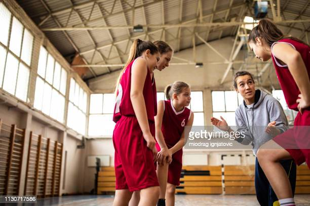 let's go girls, you can do it ! - coach stock pictures, royalty-free photos & images