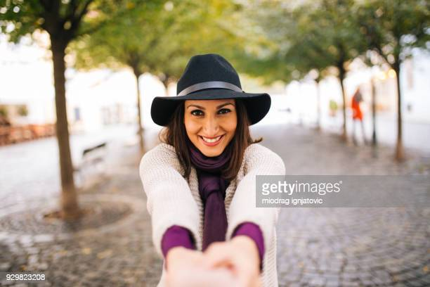 let's go - purple hat stock pictures, royalty-free photos & images