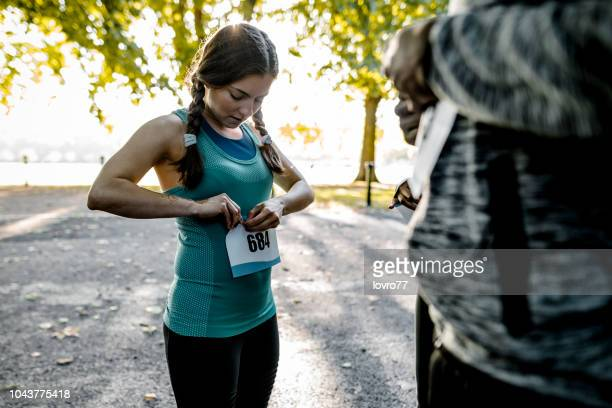 let's go to the marathon - marathon stock pictures, royalty-free photos & images