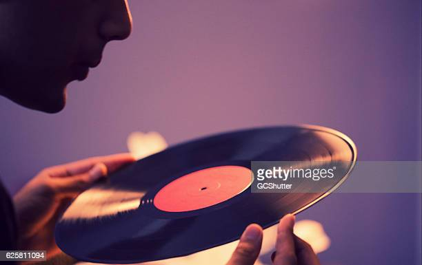 let's have a spin of this shall we? - music style stock pictures, royalty-free photos & images