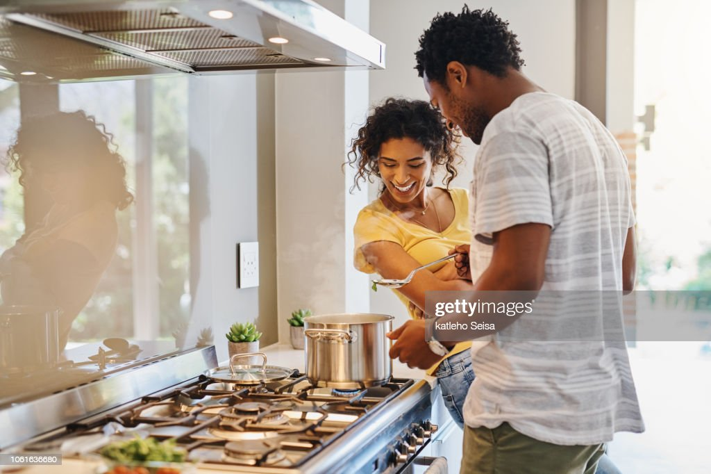 Let's have a taste : Stock Photo