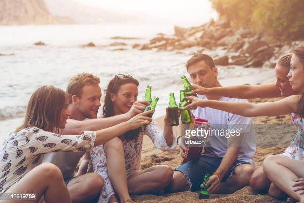 let's have a toast - escapism stock photos and pictures