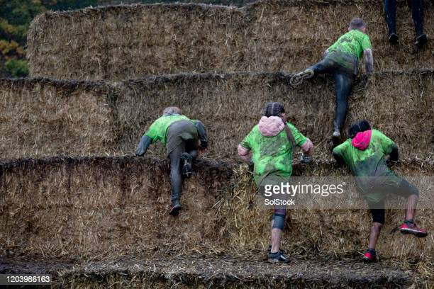 lets hit the hay team - mountaineering stock pictures, royalty-free photos & images