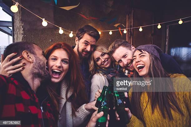 Lassen Sie es uns machen Sie ein selfie