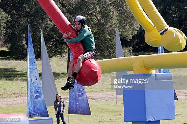 WIPEOUT Let's Make a Wipeout The only thing better than watching someone fall down is watching a LOT of people fall down says host John Henson...