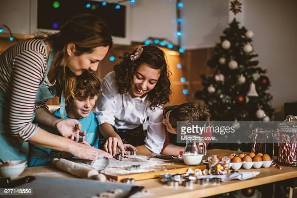 Let's hacen galletas de Navidad