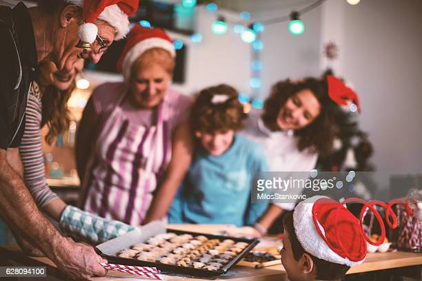 Let's make cookies for Christmas