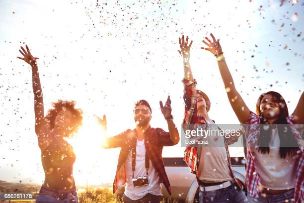 let's party! - celebration stock pictures, royalty-free photos & images