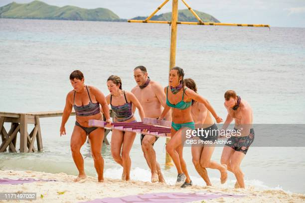 YOLO Let's Play Janet Carbin Molly Byman Dan Spilo Noura Salman and Tommy Sheehan on the second episode of SURVIVOR Island of Idols airing Wednesday...