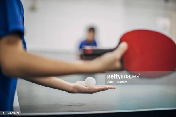 卓球をしよう - ゴム ストックフォトと画像