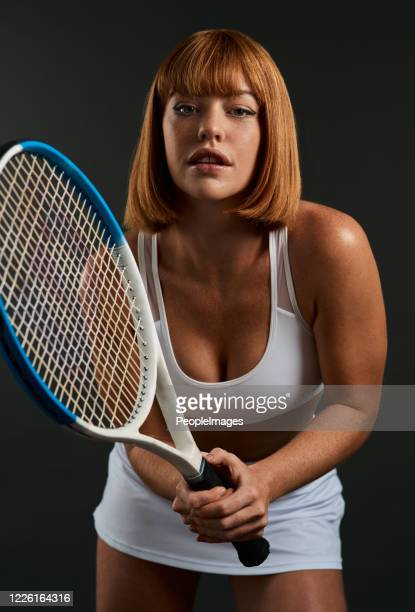 let's see if i'll miss - tennis player stock pictures, royalty-free photos & images