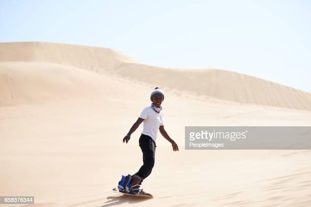 Laten we het verscheuren van het zand