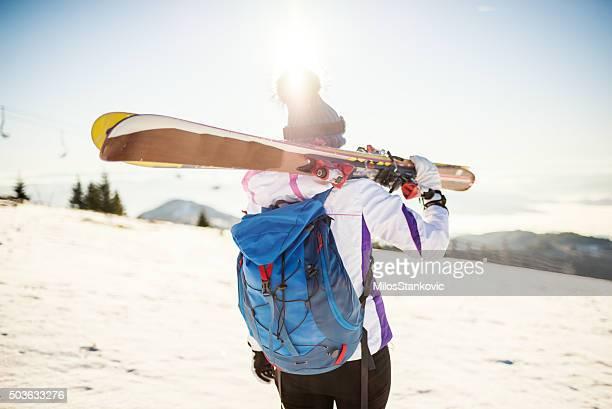Lassen Sie uns ski