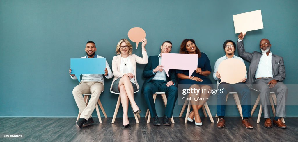 Let's start a conversation : Stock Photo
