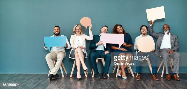 let's start a conversation - happy stock photos and pictures