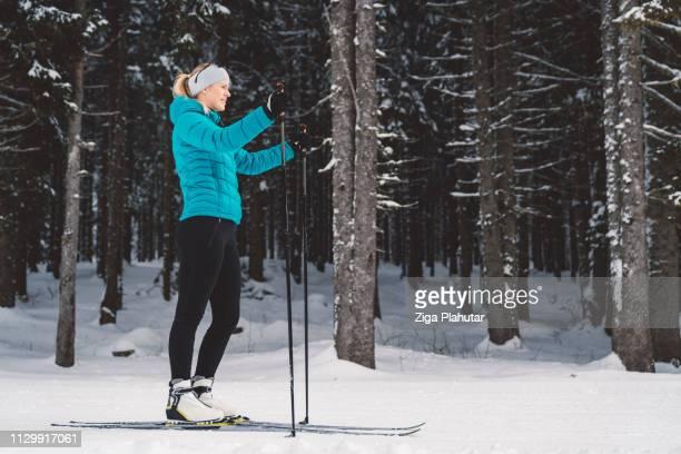 Beginnen wir diese schönen kalten Wintertag mit einigen Langlauf