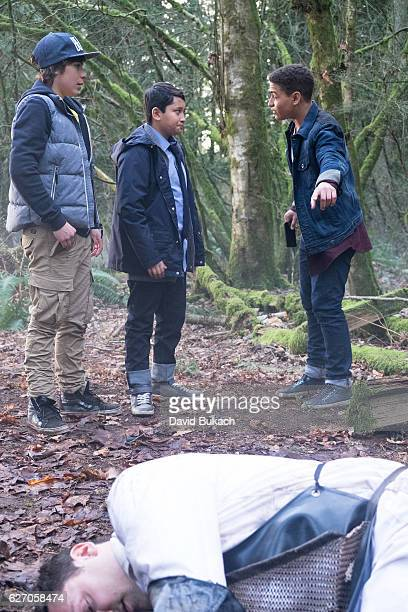 X4 Let's Survive in the Woods Principal Grey sets a trap for Ryan Harris and Spyder while they're on a camping trip which leaves MECHX4 and Mark in...