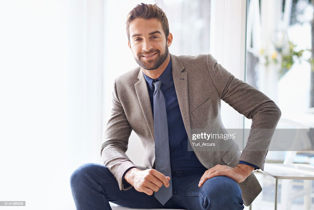 Let's talk business : Stock Photo