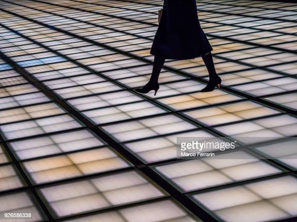 Let's Walk along the Line. How to Walk Shows Your Business Strategy.