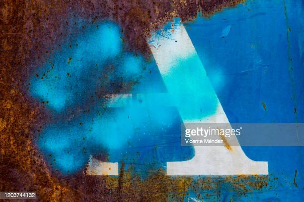 letter a blurred - rust colored stock pictures, royalty-free photos & images