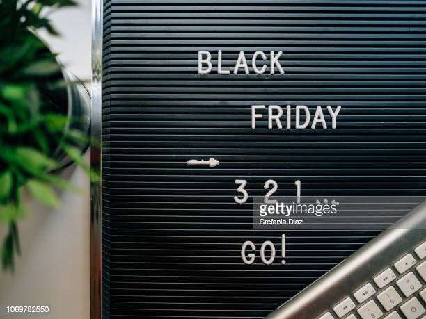 letter board: black friday - black friday stock photos and pictures