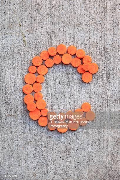 Letter C for Carrots