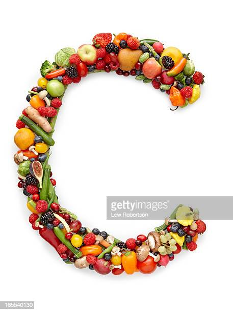 Letter C in produce