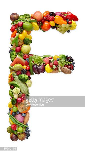 Letter F in produce
