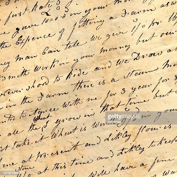 Brief von Amerika