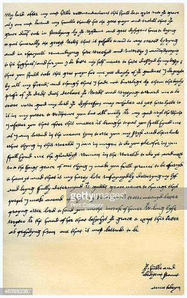 Letter from Anne Boleyn to Cardinal Wolsey c1528 Letter from Anne Boleyn to Cardinal Wolsey written before she became queen thanking him for his...