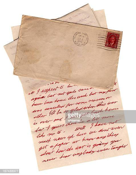 WW2 letter from Canadian army camp at Petawawa, Ontario, 1942