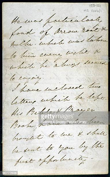 Letter from English nurse and hospital reformer Florence Nightingale to a Mrs Clark informing her of the death of her brother Samuel Clark a soldier...