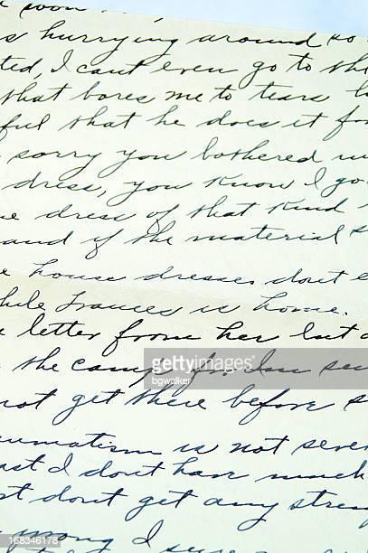 Brief von zu Hause