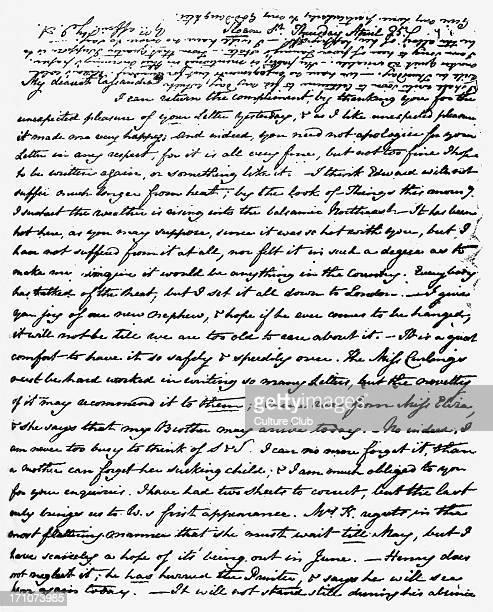 Letter from Jane Austen to Cassandra Austen Letter from Jane Austen to Cassandra Austen Handwritten manuscript JA English novelist 16 December 1775 –...