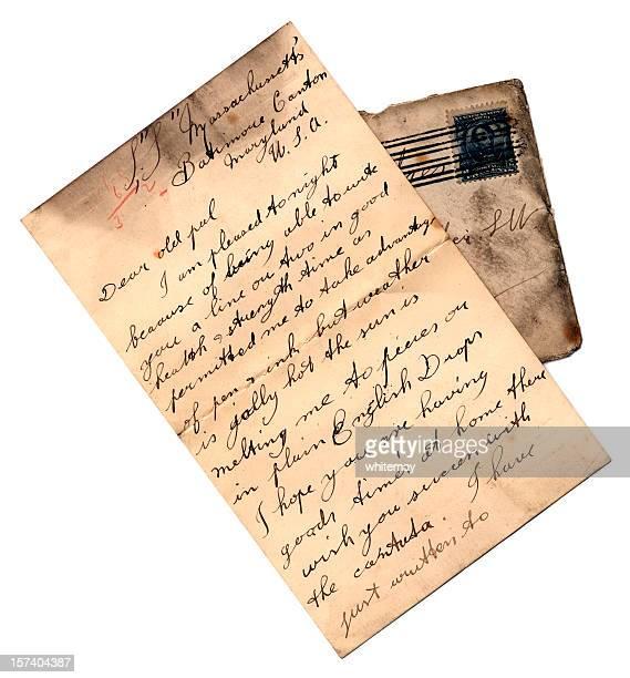 carta do sp massachusetts - marca postal - fotografias e filmes do acervo