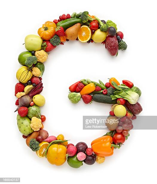 Letter G in produce
